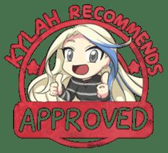 Lil' Kylah sticker #7126626