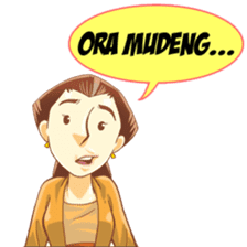 Mbak Sri sticker #7129179
