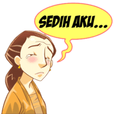 Mbak Sri sticker #7129180