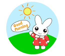 Sleepy Bunny (EN) sticker #7130888