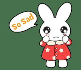 Sleepy Bunny (EN) sticker #7130890