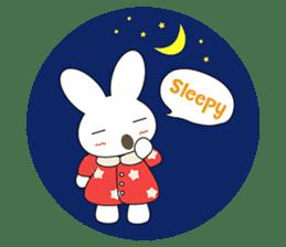 Sleepy Bunny (EN) sticker #7130892