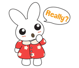 Sleepy Bunny (EN) sticker #7130898