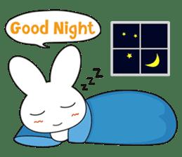 Sleepy Bunny (EN) sticker #7130899