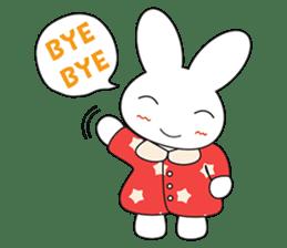 Sleepy Bunny (EN) sticker #7130901