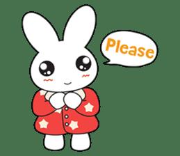 Sleepy Bunny (EN) sticker #7130904
