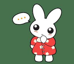 Sleepy Bunny (EN) sticker #7130905