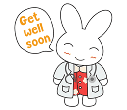 Sleepy Bunny (EN) sticker #7130907