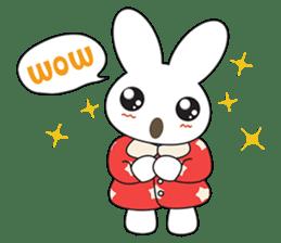 Sleepy Bunny (EN) sticker #7130913