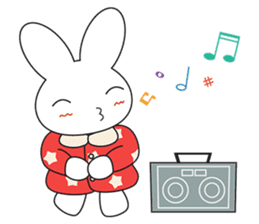 Sleepy Bunny (EN) sticker #7130914