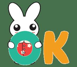 Sleepy Bunny (EN) sticker #7130917