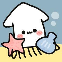 Cute squid's