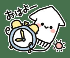 Cute squid's sticker #7131604