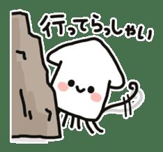 Cute squid's sticker #7131607