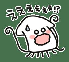 Cute squid's sticker #7131619