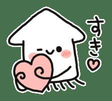 Cute squid's sticker #7131627