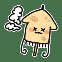 Cute squid's sticker #7131631