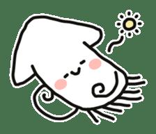 Cute squid's sticker #7131635