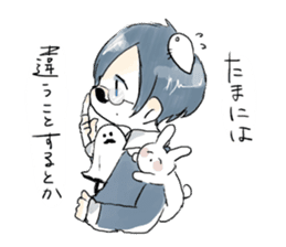 Tanaka and pleasant friend sticker #7133898