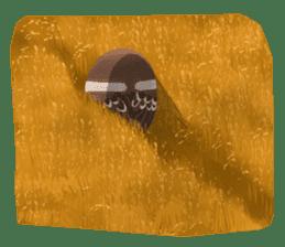 fat sparrow sticker #7136504