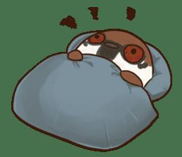 fat sparrow sticker #7136523