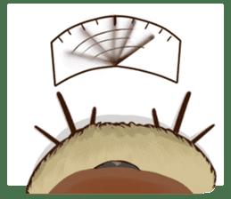 fat sparrow sticker #7136540