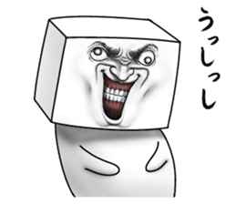 TOFU MAN! sticker #7136654