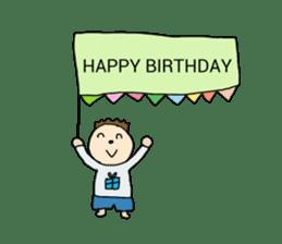 happy birthday to you~ birthday song sticker #7145085