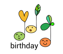 happy birthday to you~ birthday song sticker #7145088