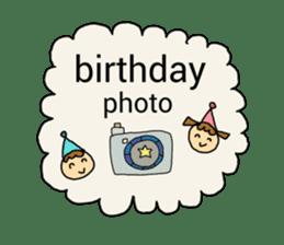 happy birthday to you~ birthday song sticker #7145093