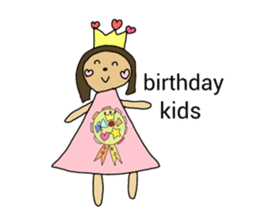 happy birthday to you~ birthday song sticker #7145094