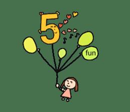 happy birthday to you~ birthday song sticker #7145101