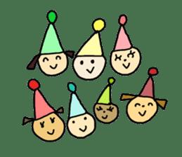 happy birthday to you~ birthday song sticker #7145109