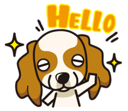 iinu - Cavalier King Charles Spaniel sticker #7147920