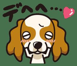 iinu - Cavalier King Charles Spaniel sticker #7147922