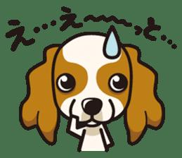 iinu - Cavalier King Charles Spaniel sticker #7147923