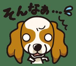 iinu - Cavalier King Charles Spaniel sticker #7147924