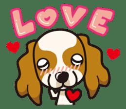 iinu - Cavalier King Charles Spaniel sticker #7147925