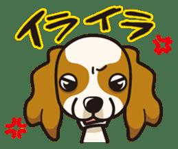 iinu - Cavalier King Charles Spaniel sticker #7147927