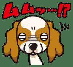 iinu - Cavalier King Charles Spaniel sticker #7147932