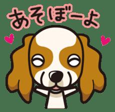 iinu - Cavalier King Charles Spaniel sticker #7147937