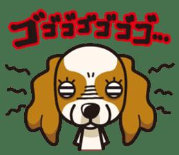 iinu - Cavalier King Charles Spaniel sticker #7147941