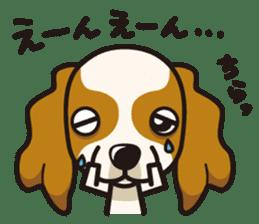iinu - Cavalier King Charles Spaniel sticker #7147943