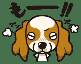 iinu - Cavalier King Charles Spaniel sticker #7147944