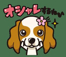 iinu - Cavalier King Charles Spaniel sticker #7147945