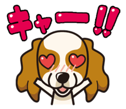 iinu - Cavalier King Charles Spaniel sticker #7147947