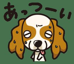 iinu - Cavalier King Charles Spaniel sticker #7147948