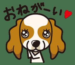 iinu - Cavalier King Charles Spaniel sticker #7147950