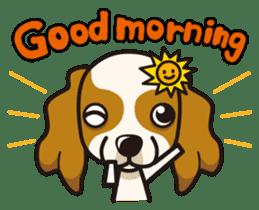 iinu - Cavalier King Charles Spaniel sticker #7147952