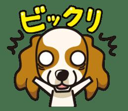 iinu - Cavalier King Charles Spaniel sticker #7147954